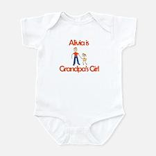 Alivia is Grandpa's Girl Infant Bodysuit