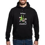 Wine Junkie Hoodie (dark)