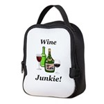 Wine Junkie Neoprene Lunch Bag