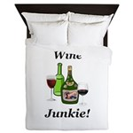 Wine Junkie Queen Duvet