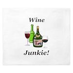 Wine Junkie King Duvet