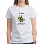 Wine Junkie Women's T-Shirt