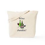 Wine Junkie Tote Bag