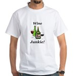 Wine Junkie White T-Shirt