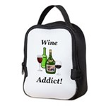 Wine Addict Neoprene Lunch Bag