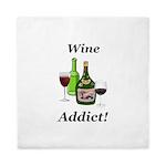 Wine Addict Queen Duvet