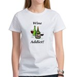 Wine Addict Women's T-Shirt