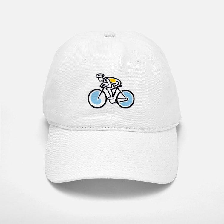 Cyclist Baseball Baseball Cap
