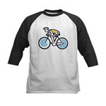 Cyclist Kids Baseball Jersey