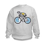 Cyclist Kids Sweatshirt