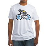 Cyclist Fitted T-Shirt