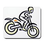 Dirtbiker Mousepad