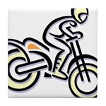 Dirtbiker Tile Coaster