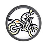 Dirtbiker Wall Clock
