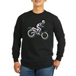 Dirtbiker Long Sleeve Dark T-Shirt