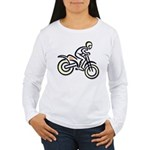 Dirtbiker Women's Long Sleeve T-Shirt