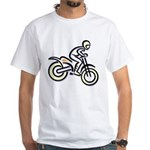 Dirtbiker White T-Shirt