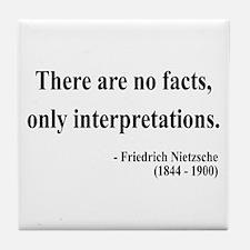 Nietzsche 7 Tile Coaster