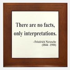 Nietzsche 7 Framed Tile