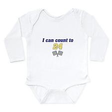 Cute Jeff gordon Long Sleeve Infant Bodysuit
