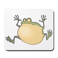 Pot-Belly Frog Mousepad