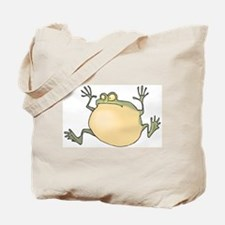 Pot-Belly Frog Tote Bag