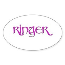Ringer 2 Oval Decal