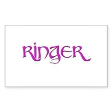 Ringer 2 Rectangle Decal
