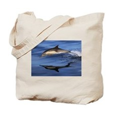 Dolphin Lunge Tote Bag