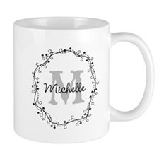 Cute Personalized Monogram Mugs For Women