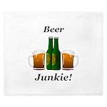 Beer Junkie King Duvet
