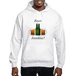 Beer Junkie Hooded Sweatshirt