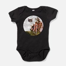 ALICE_Cheshire Cat_SQ.png Baby Bodysuit