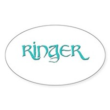 Ringer 5 Oval Decal