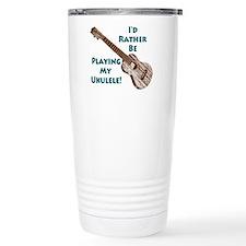 Unique Ukulele Travel Mug