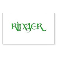 Ringer 6 Rectangle Decal