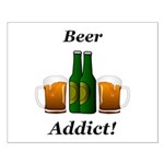Beer Addict Small Poster