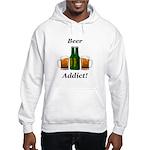 Beer Addict Hooded Sweatshirt