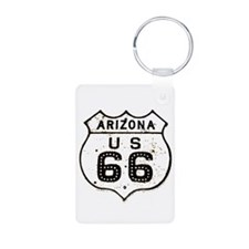 Route 66 Old Sign Arizona Keychains