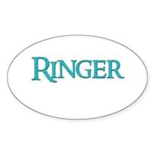 Ringer 10 Oval Decal