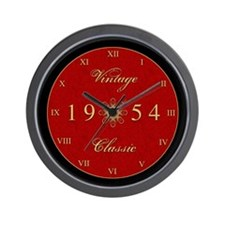 Vintage 1954 Birth Year Wall Clock