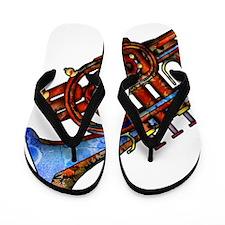 Horn Flip Flops
