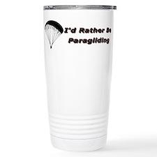 Cute Id rather Travel Mug