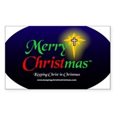 Cute Merry christmas Decal