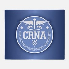 CRNA Throw Blanket