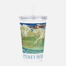 Neptune's Horses Acrylic Double-wall Tumbler