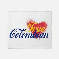 True Colombian ... Throw Blanket