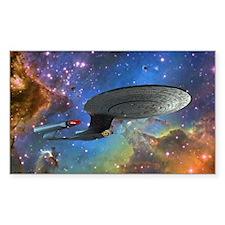 STARTREK 1701D EAGLE NEBULA Decal