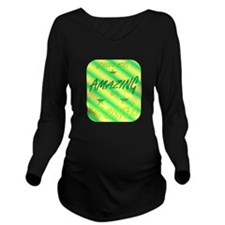 Worlds Most - Big Si Long Sleeve Maternity T-Shirt