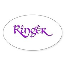 Ringer 17 Oval Decal